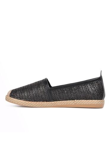Park Moda Park Moda K54 Ten Kadın Günlük Ayakkabı Siyah